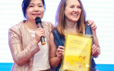 VMT Training – Award Winner in China