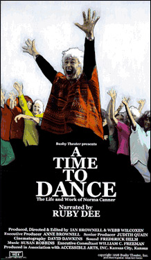A Time To Dance DVD cover
